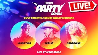 *NEW* FORTNITE LIVE CONCERT EVENT! - DIPLO, YOUNG THUG & NOAH CYRUS!