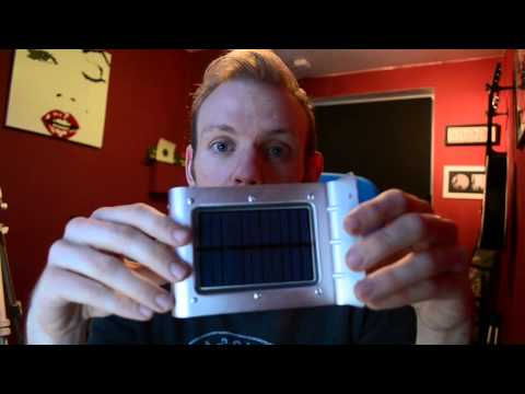 Product review - Swirl Solar Motion Lights by SPV Lights