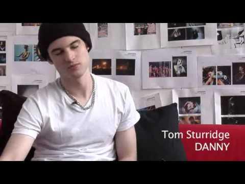 Tom Sturridge interview on the set of Junkhearts