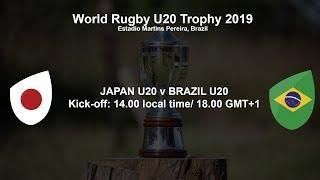 World Rugby U20 Trophy 2019 - Japan U20 v Brazil U20