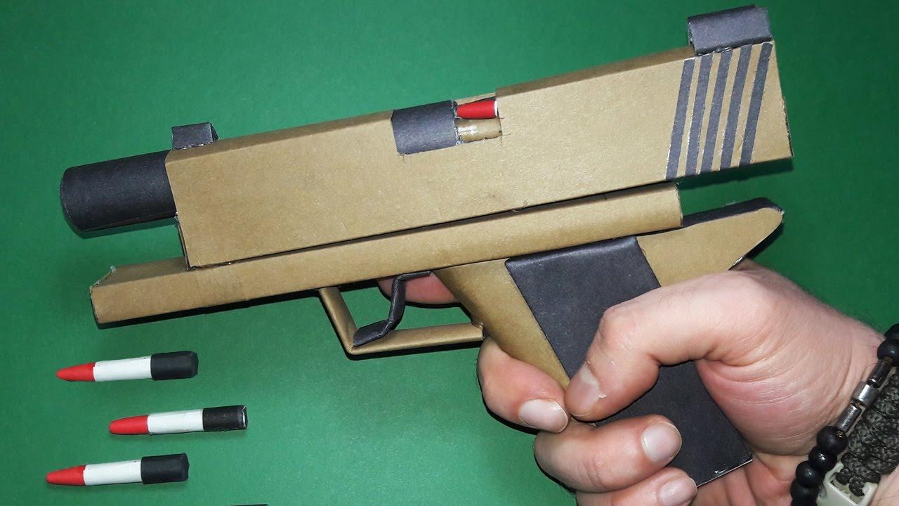 a origami gun