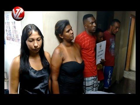 PM detém cinco e apreende drogas no condomínio Ingá no bairro Santa Cruz
