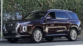 🔥2020 Hyundai Palisade - New Three-Row SUV With Bold Design