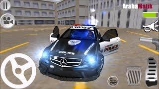 Direksiyonlu Polis arabası sürme oyunu //  Polis arabası ile suçluları yakalıyoruz