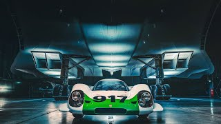 The Legendary Porsche 917 Meets The Fabulous Concorde