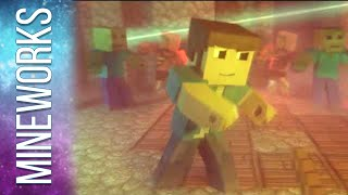 "♫ ""Na Na Na (I Found A Diamond)"" - An Original Minecraft Song Animation - Official Music Video"
