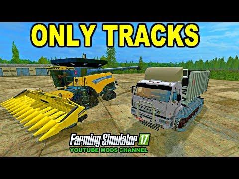 Farming Simulator 2017 Mods UNIQUE TRACKED VEHICLES
