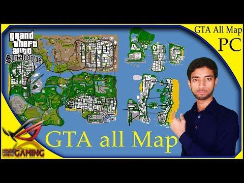 All GTA Maps In GTA San Andreas Underground Full Game Setup Download In Hindi Urdu