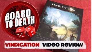 Vindication Board Game Video Review