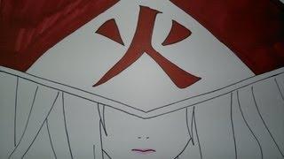 Drawing Tsunade.綱手を引く方法.