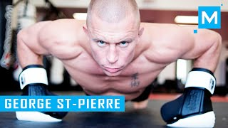 George St-Pierre Training for Comeback to UFC | Muscle Madness