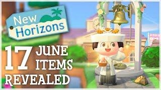 Animal Crossing New Horizons - 17 LIMITED June Items REVEALED (Seasonal Update)