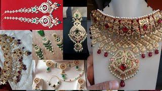 Rajputi Set Design | Rajputi Necklace | Moti Haar | Nath | Chik Set | Rajputi Earrings | राजपूती सेट