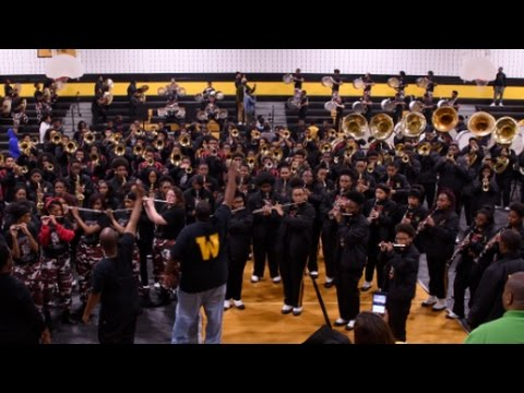 Pine Bluff/Whitehaven High School Mass Band - Uh-Oh!! - 2016