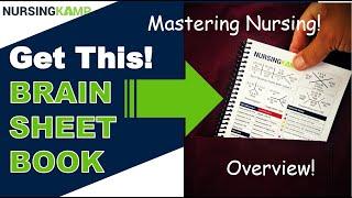 Nursing KAMP Brain Sheet Book School NCLEX