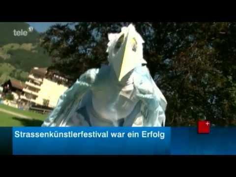 Tele 1: Strassenkünstlerfestival Spettacolo war Grosserfolg