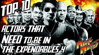 Top 10 Actors That Need to be in The Expendables 4: Countdown - Movie Mercs