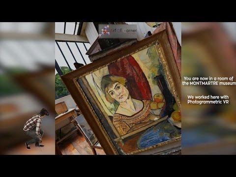 Trailer Atelier Utrillo Valadon à Montmartre sur VIVEPORT