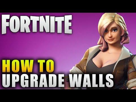 "Fortnite Guide ""How To Upgrade Walls"" Fortnite Building Tips ""Fortnite Skill Tree"""