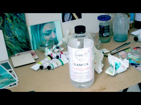How To Recycle Paint Thinner After Oil Painting