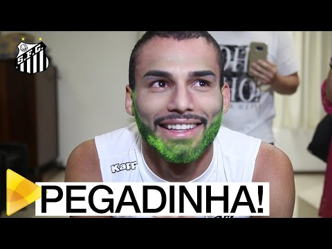 PEGADINHA: Thiago Maia cai em trollagem da Santos TV | PARTE 1