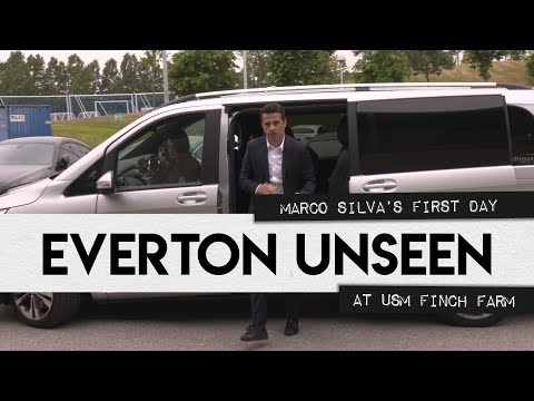 EVERTON UNSEEN #8: MARCO SILVA'S FIRST DAY AT USM FINCH FARM