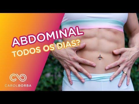Como treinar abdomen? Pode todo dia? - Carol Borba