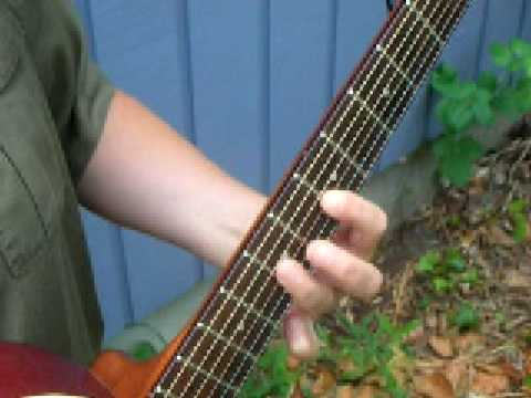 How to Play a 1, 4 and 5 chord blues scale on Guitar - YouTube