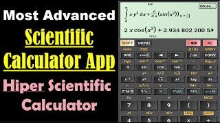 Hiper Scientific Calculator App - Best Scientific Calculator App for Android screenshot 3