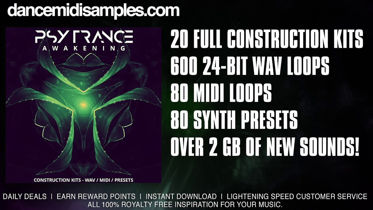 Psytrance Samples - 'Psytrance Awakening' Demo