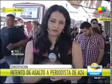 Intento de asalto a periodista de América TV y A24