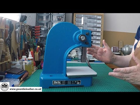 Arbor Press For Leather Work
