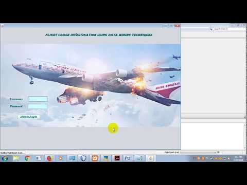 Flight Crash Investigation Using Data Mining Techniques  final Year Cse Projects Consultants