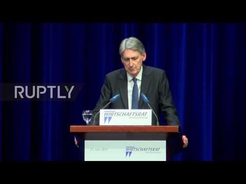 Germany: Chancellor Hammond says UK wants