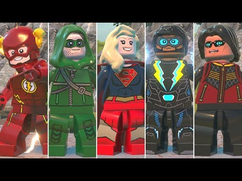 All DC Super Heroes TV Series Characters In LEGO DC Super-Villains (DLC)