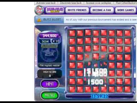 Bejeweled Blitz Hack Highest possible score until you are tired (1,584,500,... to infinity)