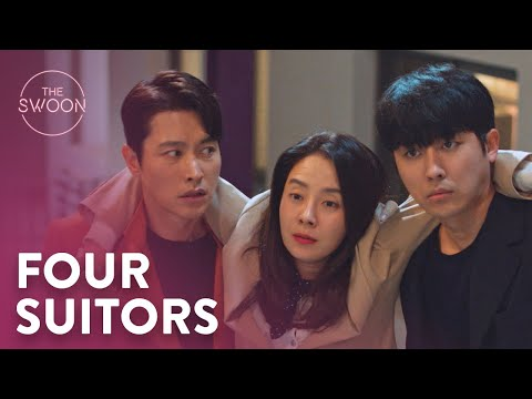 Song Ji-hyo's four suitors finally meet | Was It Love? Ep 5 [ENG SUB]