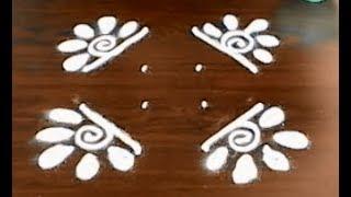 latest rangoli designs with dots - simple and beautiful kolam designs - chukkala muggulu