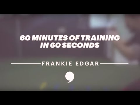 60 Minutes of Training in 60 Seconds with UFC's Frankie Edgar | The Players' Tribune