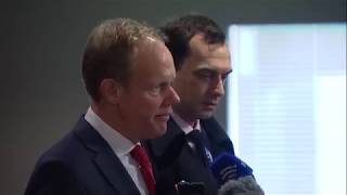 Matthew Rycroft (UK) on trafficking of persons & other matters - Media Stakeout (21 November 2017)