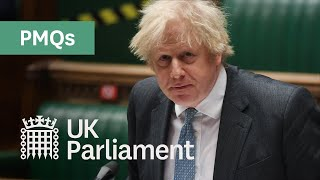 Prime Minister's Questions (PMQs) - 24 February 2021