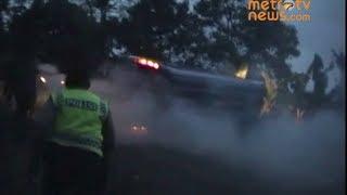 [TOLONG!! TOLONG!! Suara Korban] Detik Detik Menegangkan Penyelamatan Minibus Terguling