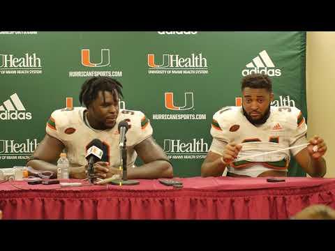 Chad Thomas & Demetrius Jackson | Post Game Presser vs FSU | 10.07.17