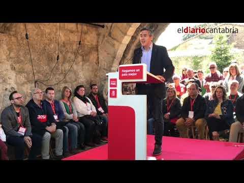"""Pedro Sánchez a Pablo Zuloaga: """"Tienes todo el apoyo de la Ejecutiva Federal como candidato"""""""