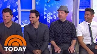Boy band 98 Degrees has reunited and is hitting the road with their...