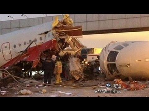 Russian Jet Crash 2012: Moscow Plane Crash Kills 4