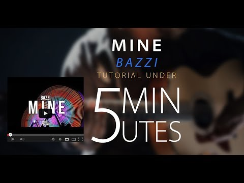 Mine Bazzi - Easy Acoustic Guitar Tutorial/Lesson Cover W/ Chords