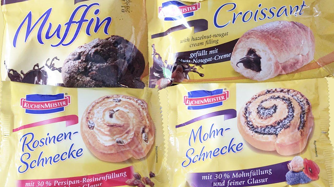 Supermarket-Bakery Pastry Croissant Cinnamon Bun Danish Raisins-Bun ...