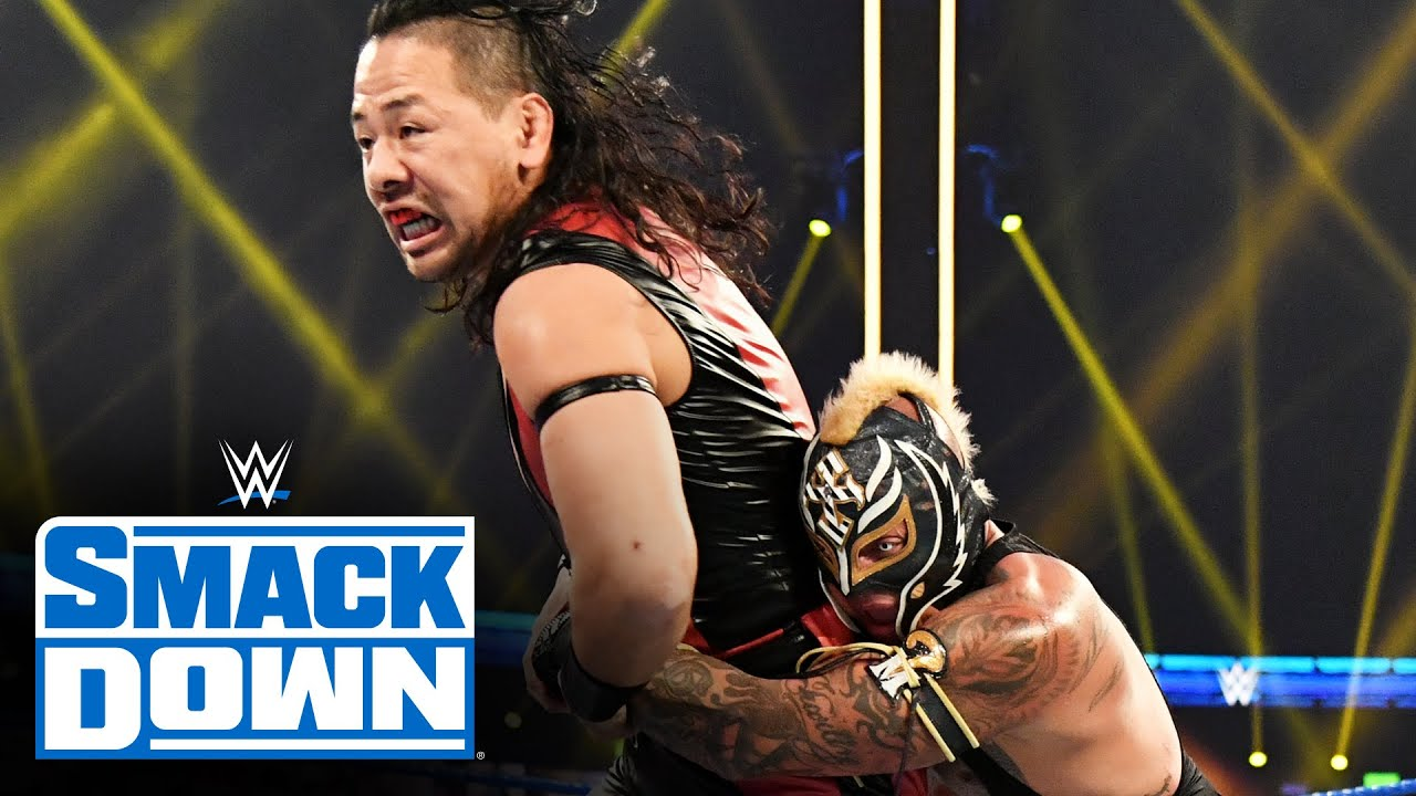 Rey Mysterio vs. Shinsuke Nakamura – Gauntlet Match Part 2: SmackDown, Jan. 8, 2021