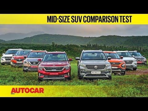 Kia Seltos & MG Hector vs every single rival | Mega SUV Comparison Review | Autocar India